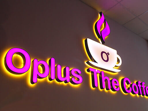 LED indoor-outdoor signage in Dubai