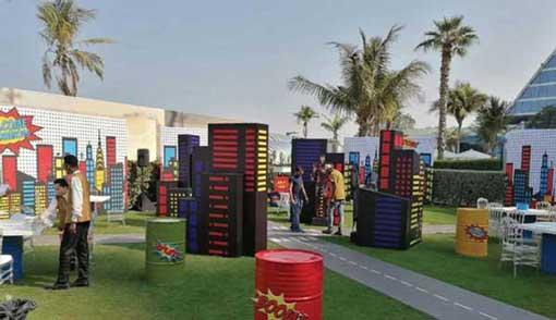 Party services in Dubai, UAE